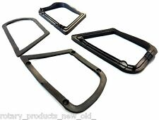 FORD CORTINA MK1 TWIN CAM GT PARK LIGHT LAMP FRONT INDICATOR RUBBER GASKET 4pcs