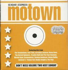 2004 U.K. Sunday Express Various Artists 2 CD set MOTOWN Vols. 1 & 2 Temps Jax 5