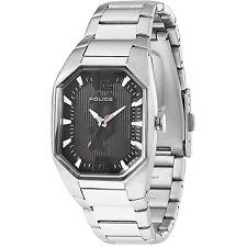 Police Octane 12895Ls/02M Women's Black Dial Stainless Steel Bracelet Watch