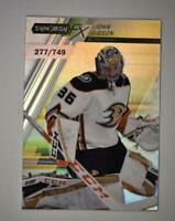2020-21 UD Synergy FX #FX-46 John Gibson /749 - Anaheim Ducks