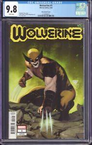 Wolverine #1 (Marvel Comics, 2020) CGC 9.8 Silva Variant Cover