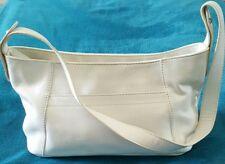 COLORADO White Leather Boho Shoulder Handbag Bag