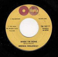 MOTOWN/NORTHERN/DEEP SOUL-BRENDA HOLLOWAY-WHEN I'M GONE (DMWXL-114312 MIX)/I'VE