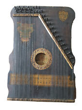 More details for antique table harp special panama model circa 1915 made in usa