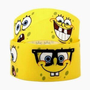 Yellow Hair Bow Cartoon Hair Bow Sponge Hair Bow