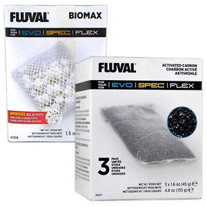 Fluval Spec/Flex BioMax & Carbon Media Multi-Pack A1378 & A1377 aquarium tank