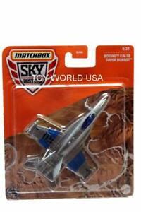 2021 Matchbox Sky Busters #4 Boeing F/A-18 Super Hornet