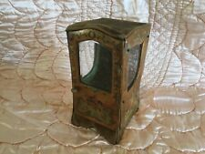 VINTAGE FRENCH SEDAN CHAIR CURIO CABINET MINIATURE
