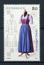 Austria 2017 MNH Traditional Costume of Grinzing 1v Set Costumes Dress Stamps