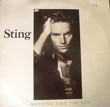 STING  Rare Nothing Like The Sun Rare Vinyl  Record.2 Record set 1987 . OZ