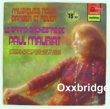 PAUL MAURIAT Grand Orchestra Musiques Danser EASY LISTENING Jazz LP FRANCE NM