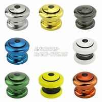 """Bicycle Threadless Headset 1-1/8""""x34x30mm Cruiser BMX ALL COLORS!"""