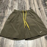 Nike Dri-Fit Men's Blue Lined Athletic Running Shorts Size Medium