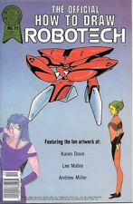 Nice Official How To Draw Robotech #8 In Nm Condition *ou Blackthorne Comics