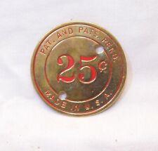 More details for watling rol-a-top original cast denomination badge 25c