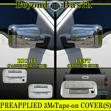 2004-2008 F150 Chrome Door Handles (W/OPSK W/OKeypad 2Dr) Mirror Tailgate Covers