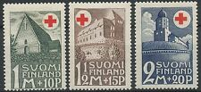 Finland 1931 MH Red Cross - Church Castle Fortress - Sc B5-7