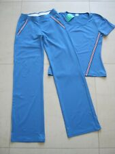 Gymshark Illusion Marineblau Stahl Nacht Schatten Blau Training Satz Leggings