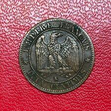 #2605 - RARE - 2 centimes 1862 K Bordeaux Napoléon III TB+ - FACTURE
