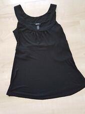 H&M Mama Schwangerschaftstop Gr. M mit Kordel schwarz Shirt Umstandskleidung