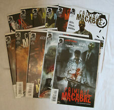 11 Comics Criminal Macabre: A Cal McDonald Mystery, Cell BLock 666, Two Red Eyes