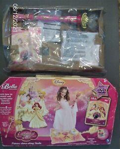 Bella Dancerella Princess Enchanted Tales, New Sealed DVD, Wand & Mat