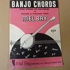 banjo MEL BAY Banjo Chords