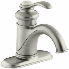 Kohler K-12181-BN Fairfax Single Hole Bathroom Faucet