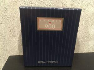 RARE ARAMIS 900 HERBAL COLOGNE FOR MEN FRAGRANCE SET 1.7oz/ 50ml splash