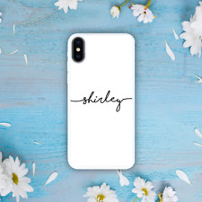 iPhone XS Max XR X 8 Plus Galaxy Note 9 S9 Case Personalised Custom Initial Name