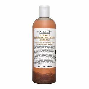 Kiehl's Calendula Herbal-Extract Alcohol-Free Toner 16.9oz 500ml Skincare #2012