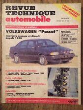 Revue Technique Automobile VOLKSWAGEN Passat moteurs Essence et Diesel depuis 88