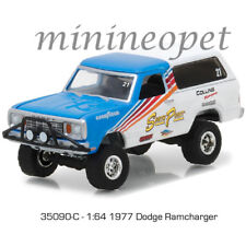 GREENLIGHT 35090 C ALL TERRAIN SERIES 6 1977 DODGE RAMCHARGER 1/64 BLUE / WHITE