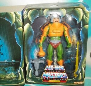 MASTERS OF THE UNIVERSE MOTU CLASSICS MAN-AT-ARMS FIGURE SUPER 7 CLUB GRAYSKULL