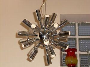 lustre spoutnik chrome 24 lampes