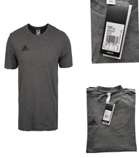 adidas Core 18 Tee T-shirt Grey & Black S