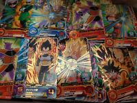 Lot Set 40 cartes cards Dragon Ball Super Heroes Holo Prism Bandai Japan