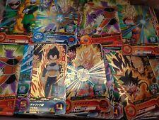 Lot Set 40 cartes cards Dragon Ball Super Heroes Holo Prism Bandai Japan