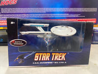 Rare Mattel Hot Wheels Star Trek USS Enterprise NCC-1701-A  (Battle Damage)