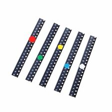 100 Pcs 5 Colors 0603 SMD LED Light Red Green Blue Yellow White Assotment Kit