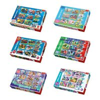 Trefl 10 In 1 Disney Jigsaw Puzzle Boys Girls 20, 35, 48 Pcs Fun Play Floor Kids
