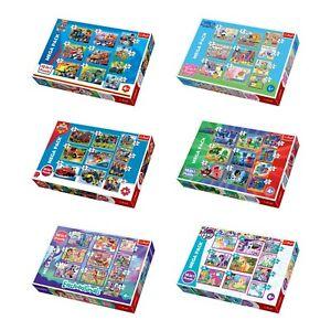 Trefl 10 In 1 Disney Jigsaw Puzzle Boys Girls 20, 35, 48 Pcs Fun Play Floor Kids