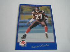 1991 JOGO CFL FOOTBALL DANIEL HUNTER CARD #31***OTTAWA ROUGH RIDERS***