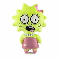 Kidrobot Simpsons Phunny Zombie Lisa Plush Figure NEW IN STOCK