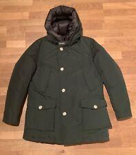 Woolrich Herren Winter Jacke Artic Parka NF Dark Green Gr. L Entendaunen