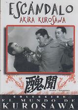 DVD - Escandalo NEW Akira Kurosawa FAST SHIPPING !