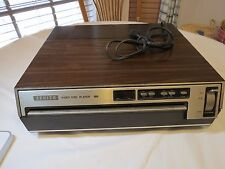 Zenith video disc player laser vintage VP2000  VP 2000 RARE CED AS IS POWERS UP
