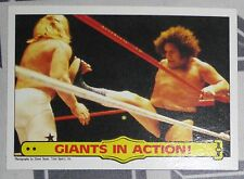 Big John Studd Andre the Giant WWF 1985 Topps Card #48 WWE Pro Wrestling Legend
