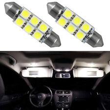2 pièces LED Canbus 36mm 6 SMD 6418 blanc lumières intérieures C5W fraîches