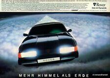 ROVER-V8-1980-Reklame-Werbung-genuine Advert-La publicité-nl-Versandhandel